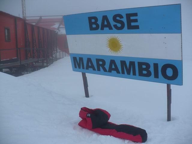 Spacák CONDOR Z na Antarktidě