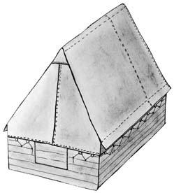 podsadový stan - výroba